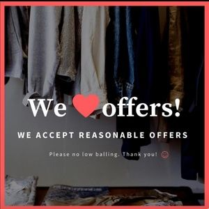 Other - Please use the offer button 💖